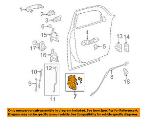 image is loading chevrolet-gm-oem-06-11-hhr-front-door-