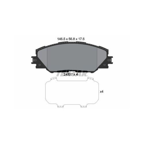 Textar Bremsscheiben Textar Bremsbeläge vorne für Toyota Auris Mirai Prius Rav