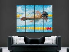 MICHAEL PHELPS  WALL ART PICTURE POSTER   GIANT HUGE OLYMPIC SWIMMING G74