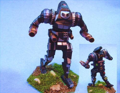 Battletech painted Orion 0N1-K battlemech unique