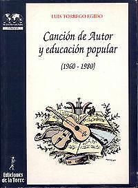 Cancion De Autor Y Educacion Popular (1960-1980). ENVÍO URGENTE (ESPAÑA)
