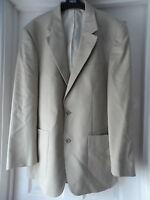 Brand Cruise By Wellington Men`s Cream Blazer Jacket Size 40