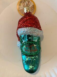 Inge Glas, German Christmas Ornaments Blown Glass - Santa ...