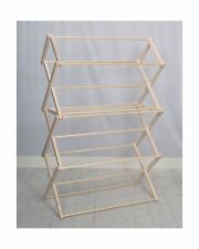 Pennsylvania Woodworks Extra Large Wooden Clothes Drying Rack Ebay