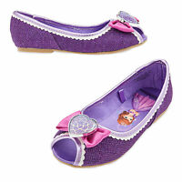 Disney Store Sofia The First Princess Costume Dress Shoes Girls Size 5/6 & 2/3
