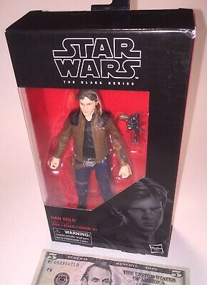 Star Wars The Black Series #62 Han Solo Action Figure New In Box!