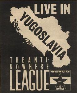31-12-83PN65-ADVERT-5X5-THE-ANTI-NOWHERE-LEAGUE-LIVE-IN-YUGOSLAVIA-ALBUM