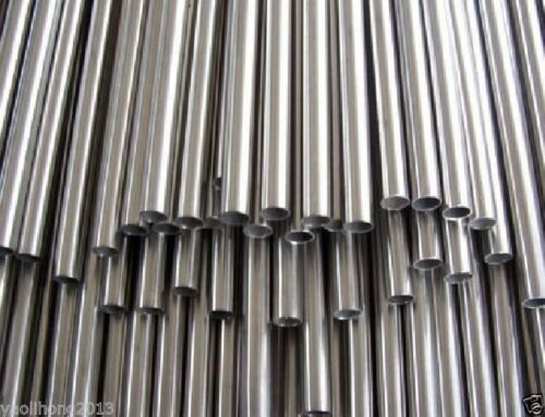 5pcs OD 10mm ID 6mm Length 200mm 304 Stainless Steel Metal Tubing
