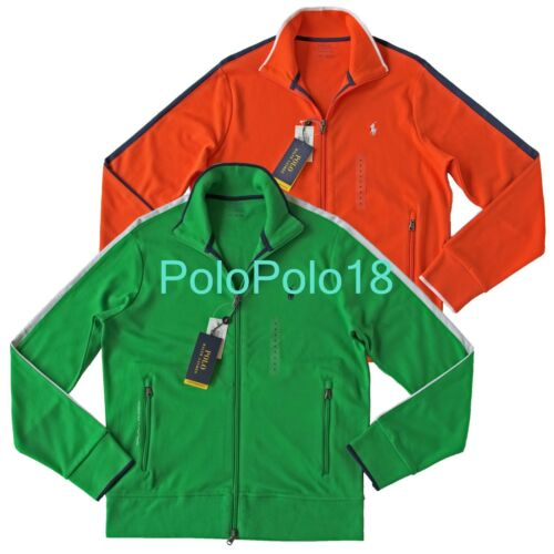 New $98 Polo Ralph Lauren Pony Zip Track Jacket S M L XL 2XL