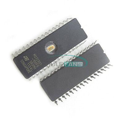 100pcs M27C322-100F1 M27C322 ST IC EPROM UV 32MBIT 100NS 42CDIP