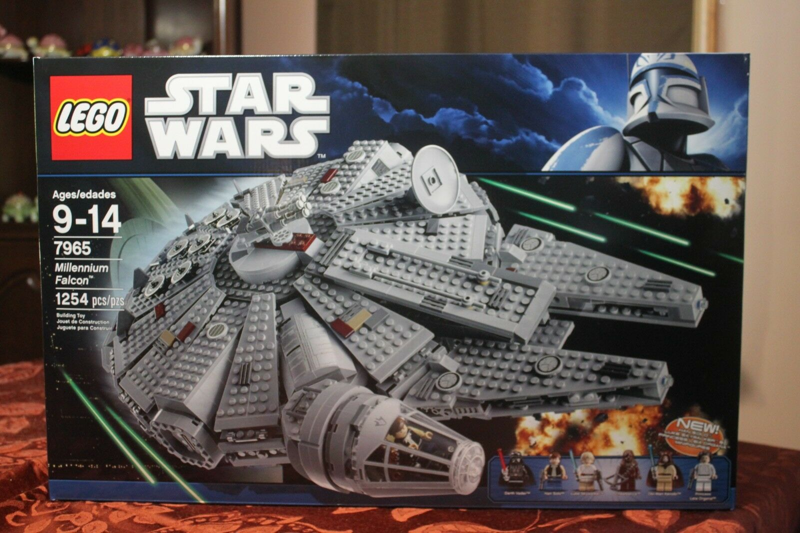 Lego  Star Wars Millennium Falcon (7965) NISB  Perfect for collector  jusqu'à 70% de réduction