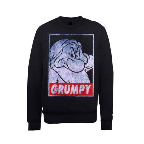 SNOW WHITE GRUMPY DWARF POSTER Sweater New Official DISNEY