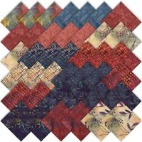 Moda Sweet Blend Batiks Charm Pack Laundry Basket Quilts 42 5 Quilting Squares on sale