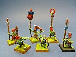 GAME-WORKSHOP-WARHAMMER-Lot-de-6-gobelins-en-metal