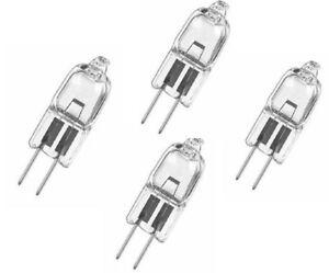 Pack-4-G4-12-Volt-10W-20W-Halogen-Capsule-Light-Bulbs-Lamps-Long-Life