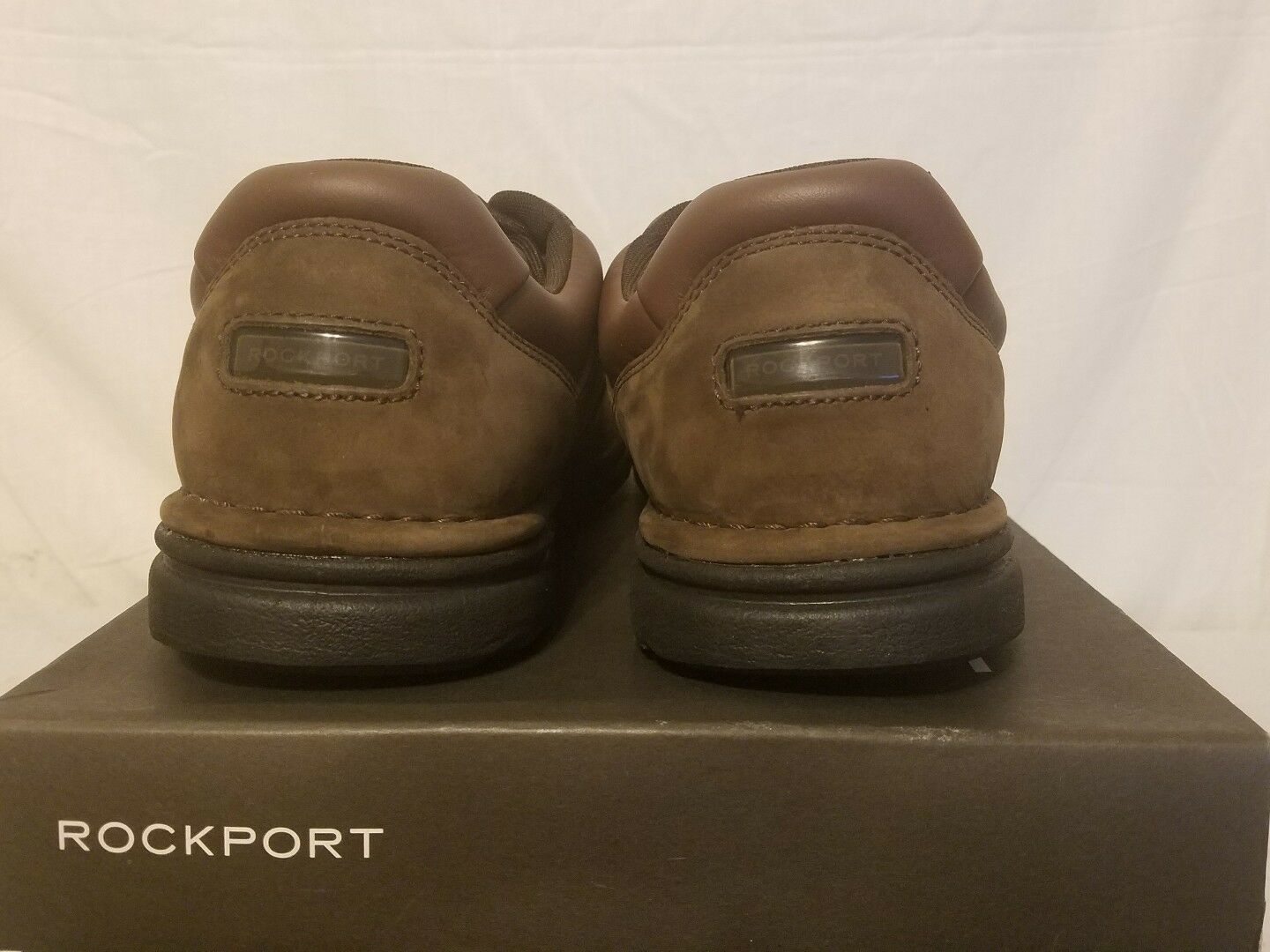 Rockport Shoes Eureka Casual Oxfords Pelle Uomo Lace Up Casuals Shoes Rockport dac438