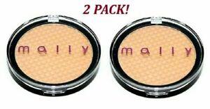 Mally-Cosmetics-Liquifuse-Powder-Foundation-0-2-oz-Medium-Tone-Set-of-2-New