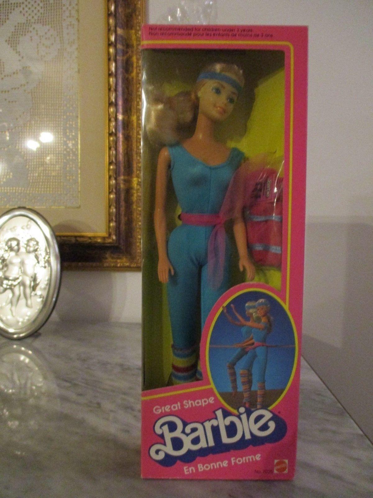 1983 Barbie Great Shap Danza Aerobica Canadian hawaiian superstar pretty