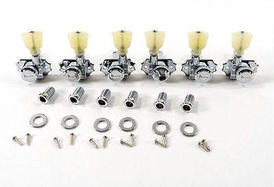 3 Locking Revolution Series G-Mount Tuning Machines Gold KRGL-3-GP  Kluson® 3