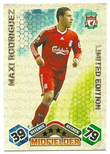 MATCH ATTAX EXTRA 2009/10 MAXI RODRIGUEZ LIMITED EDITION