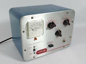 Conar Model 400 Vintage Tube Ham Radio Transmitter Powers Up Unmodified Ebay