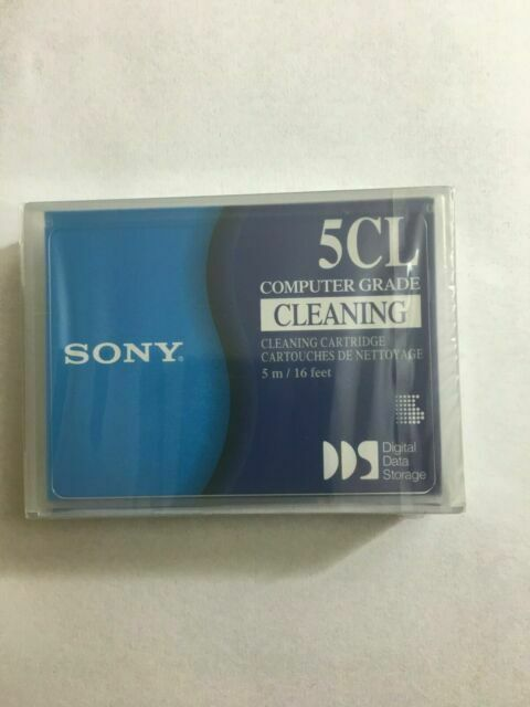 Sony DG5CL  4MM Cleaning Tape Cartridge NEW SEALED