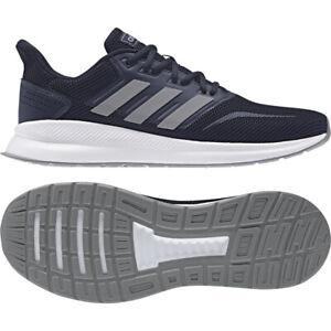 Détails sur Adidas Run Falcon Baskets Homme Running F36205 Taille  7_10_10.5_11_12_13.5_RRP £ 50- afficher le titre d'origine