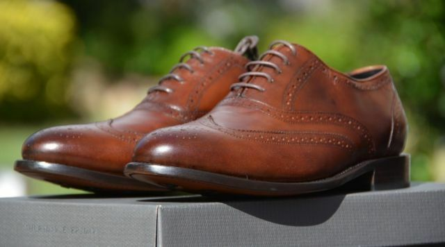 Thursday Boot Company Aviator   Cognac and Mahogany Brown Wingtip shoes   Boots