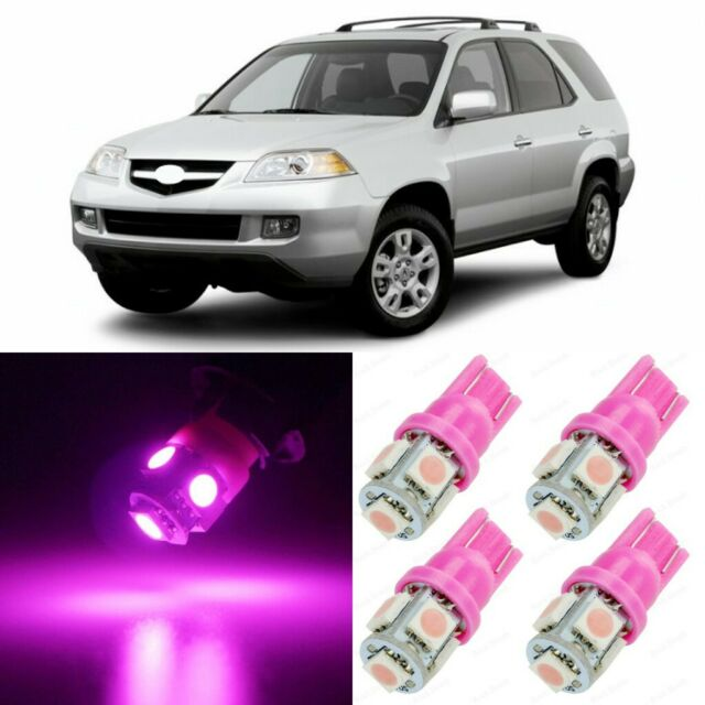 20 X Ultra PINK Interior LED Lights Package For 2001