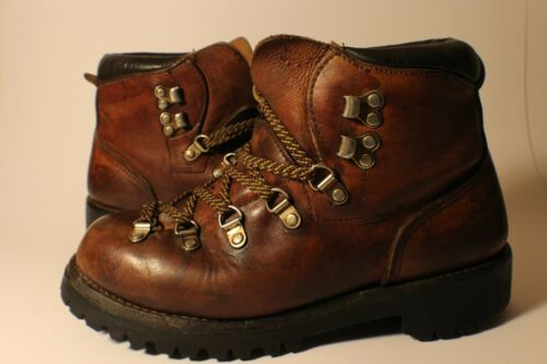 Vintage Irish Setter Red Wing Leather Hiking Boots