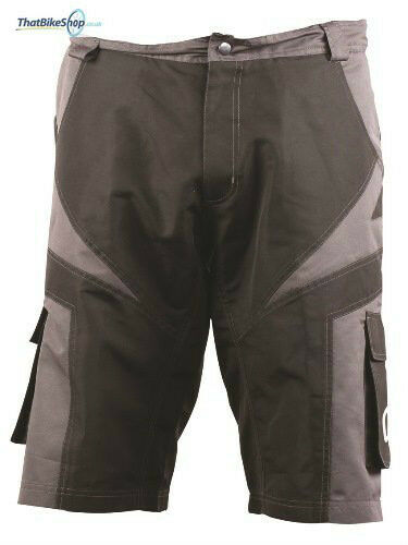 OUTEREDGE MENS CYCLING SPORTS BAGGY TRAIL SHORTS WITH INNER LINING