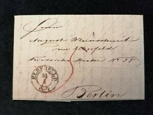 Vorphilatelie-Altdeutschland-Brief-Faltbrief-von-1845-Nr-6