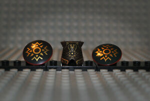 Lego-Herr-der-Ringe-2587pb29-Theoden-lor021-Armor-2x-75902pb02-Schild-a-9474