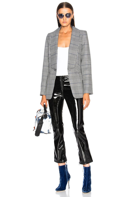 Nueva  chaqueta de comprobación tejida autorretrato Talla M  preferente