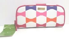 Kate Spade Bow Tile Berrie Cosmetic Pouch Case (Cream Multi)