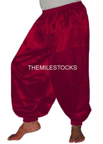 30 Color Bluish Purple TMS Satin Harem Yoga Pant Belly Dance Hippy Pantalons