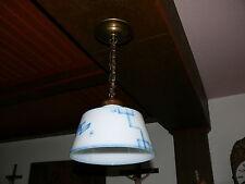 Art Deco Lampe Deckenlampe Original ca. 1920 Jena Glas