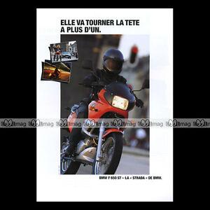 Brochure Moto Bmw F 650 Strada, F 650 Funduro #bm42 985lg3n3-07214832-394313254