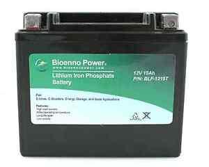 12V-15Ah-Lithium-Iron-Phosphate-LiFePO4-SEALED-Battery-w-PCM