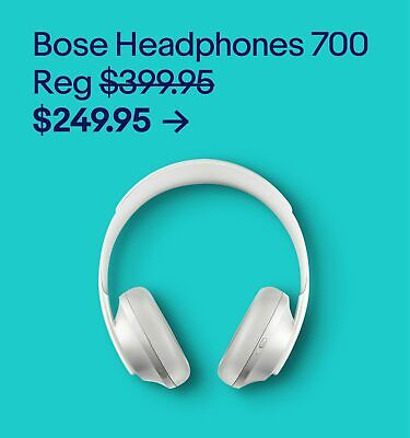 Bose Headphones 700 $249.95