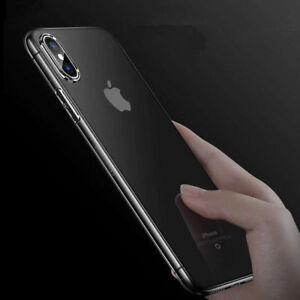 For-iPhone-X-XS-Max-XR-7-8-Plus-Ultra-Thin-Clear-Rubber-TPU-Gel-Soft-Case-Cover