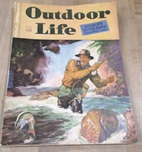 Outdoor Life Juin 1943 Faune After Dark Et Plus >-afficher Le Titre D'origine