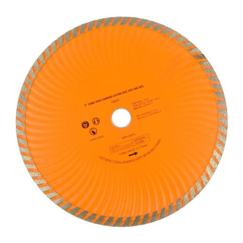 """humide et sec TE450 Disque meuleuse d/'angl 9/"""" 230mm disque diamant Turbo Wave"""