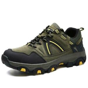 Men-039-s-Hiking-Shoes-Fashion-Waterproof-Outdoor-Climbing-Sneakers-Sports-Adult-NEW