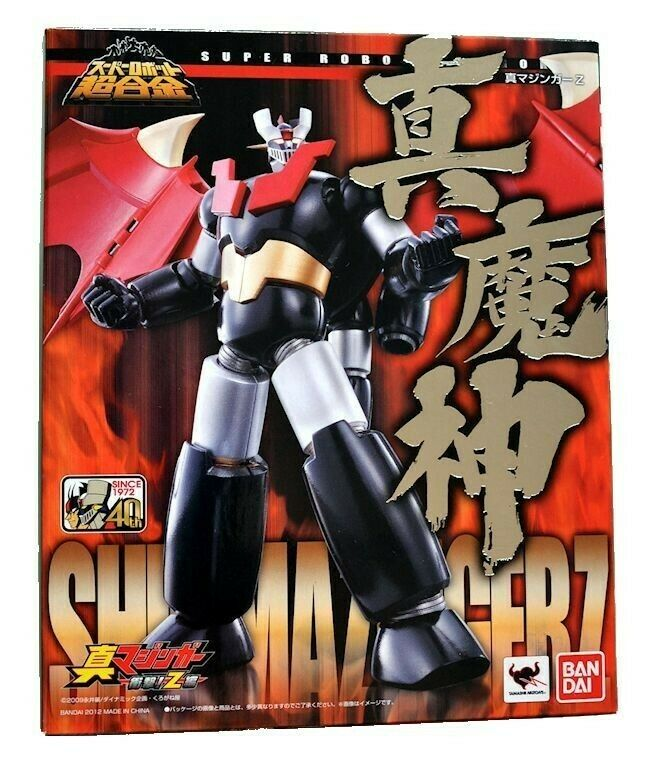 Bandai Mazinger Z Super Robot Chogokin SRC Shin Mazinger Z Figuras De Acción