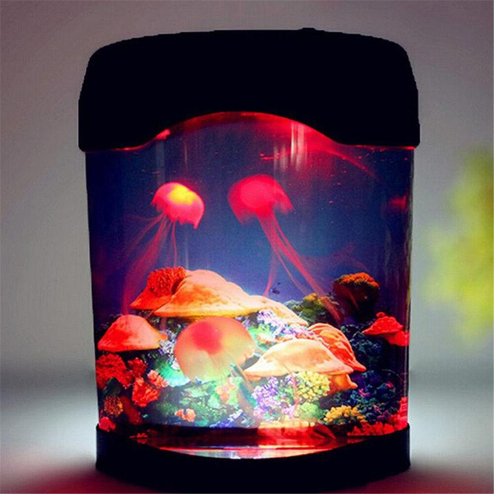 Jellyfish Aquarium Led Multi Colorful Lighting Fish Tank Mood Lamp