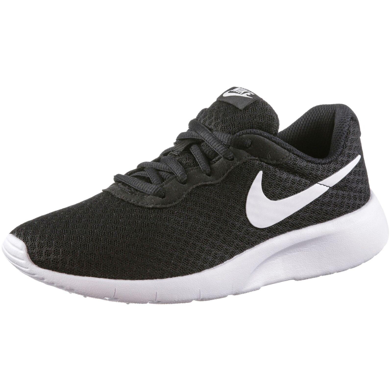 Nike Tanjun Kinder Laufschuhe SchwarzWeißWeiß, 39EU (818381 011)