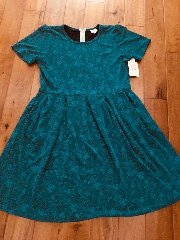 3588054cd61 Lularoe Green Jacquard Amelia 3XL Gorgeous New ntjncj350-Dresses ...