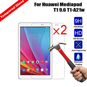 2Pcs Anti-Explosion Tempered Glass Screen Protector For Huawei Honor X1 X2 7.0/""