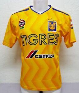 Tigres de la UANL Men s Home 2018 Soccer Jersey Made in Mexico  6620db4fb